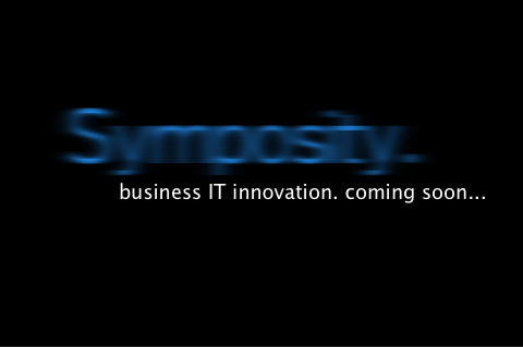 Symposity. Business IT innovation. Coming soon.
